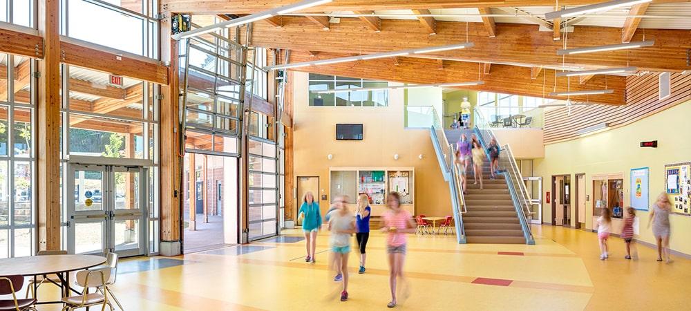 Madeira, o material perfeito para a construção de escolas